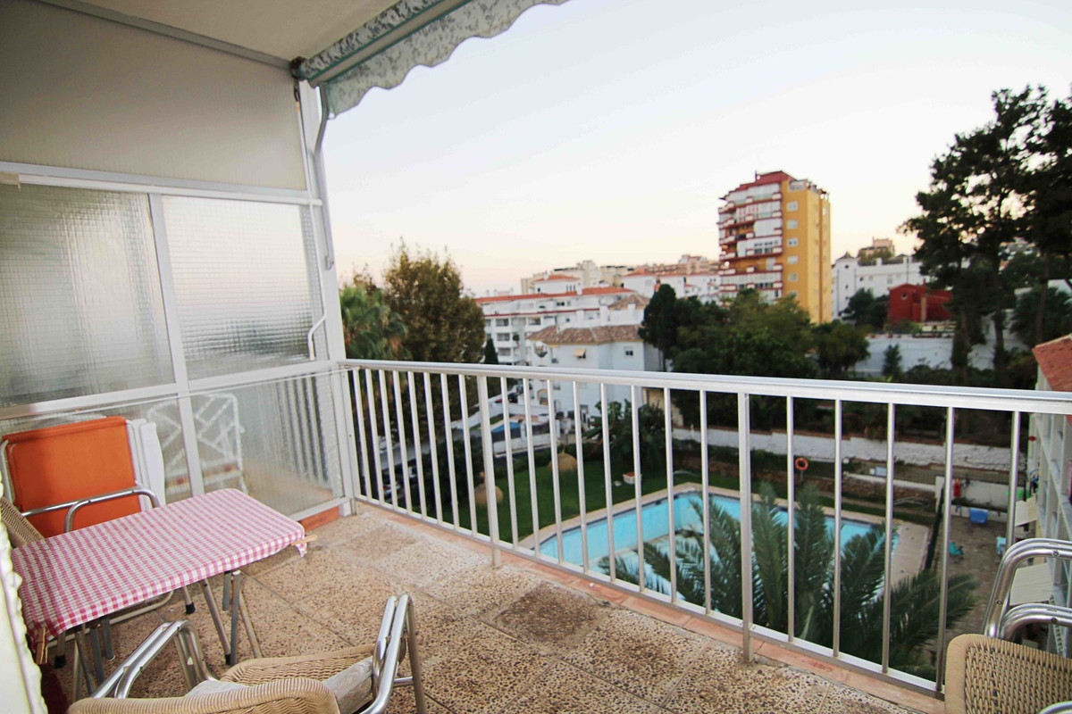 """Large studio in the complex """"Carihuela Palace"""" with sea views and walking distance to the ,Spain"""