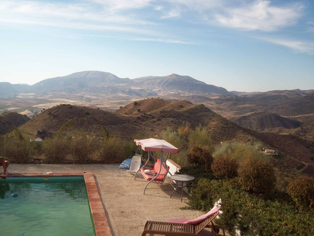 The finca in total 56.021 m2 is divided in two by a public road. The 1st plot is 26.325 m2 and the 2, Spain