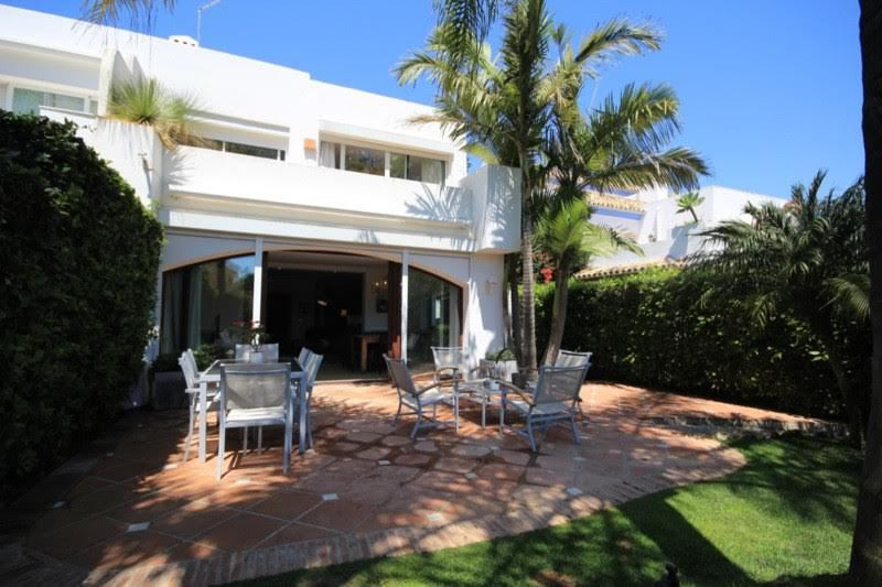 Immaculately presently and significantly extended 4 bed-roomed Semi Detached Villa situated in a hig, Spain