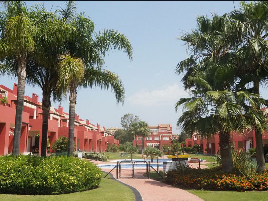 Semi detached villa located in gated community behind Paniagua Comercial Center in the prestigious g,Spain