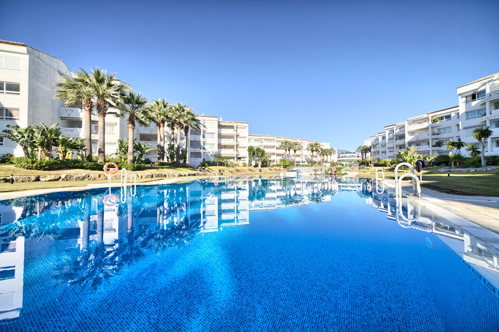 Puerto Banus - frontline beach apartment in a gated complex with 190 apartments.  This 2 bed apartme, Spain