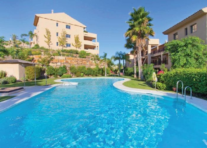 "The beautiful penthouse is located in ""La Resina Golf Resort ', 5 minutes from Estepona, 10, Spain"