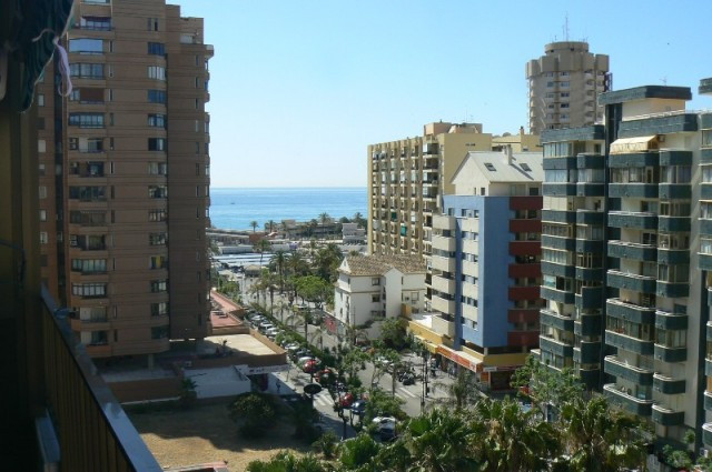 Spacious apartment located on the 9th floor in the center of Fuengirola. The apartment contains thre,Spain