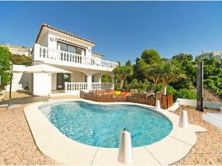 Nice villa in stunning location with incredible sea views. Located a few minutes from the beach and ,Spain