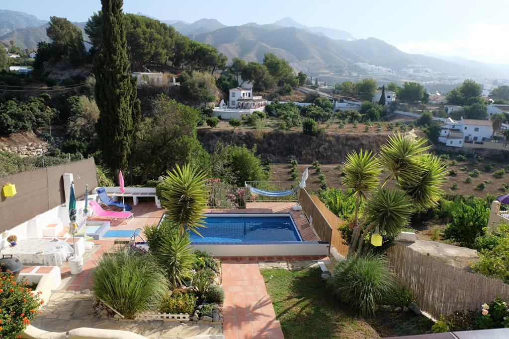VILLA IN NERJA COUNTRYSIDE 1KM FROM TOWN, ALL DAY SUN WITH STUNNING MOUNTAIN AND PARTIAL SEA VIEWS  ,Spain