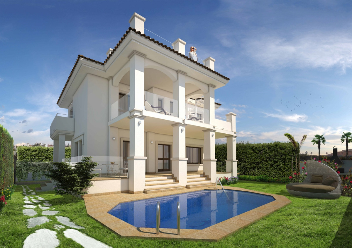 This extremely luxurious villa is located in the residential area of Urbanization Vista Mar, Marbell,Spain
