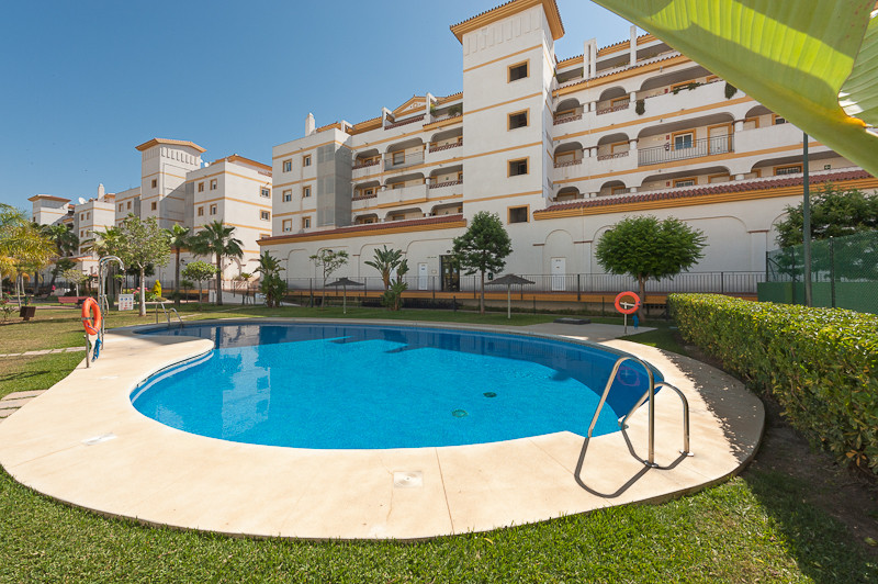 A well-appointed mid floor apartment, situated within a well maintained secure development with comm,Spain