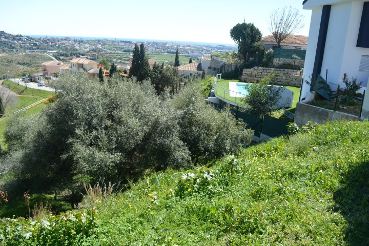 Urban plot without building in Mijas Golf, with spectacular and panoramic views of the Mediterranean,Spain