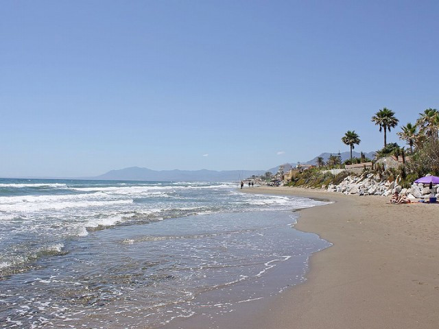 First line beach villa is located in  Marbella most sought after beach destination. Only 10 min driv,Spain
