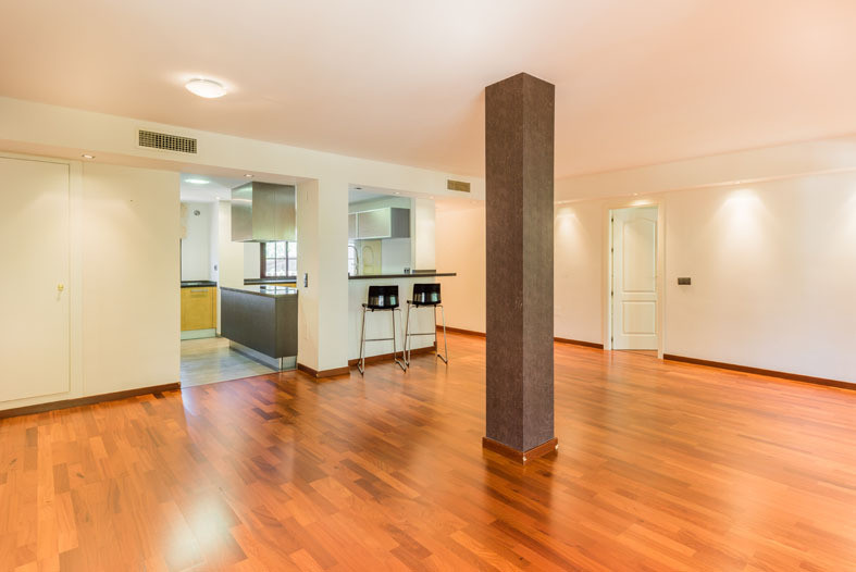 It has been completely renovated in a contemporary style and it was originally two apartments fused ,Spain