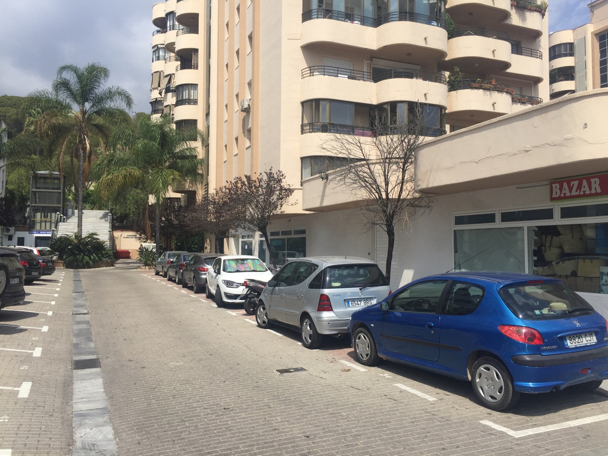 Garage and storage in the nerve center of Marbella, located in Ricardo Soriano 70, close to shops, t, Spain