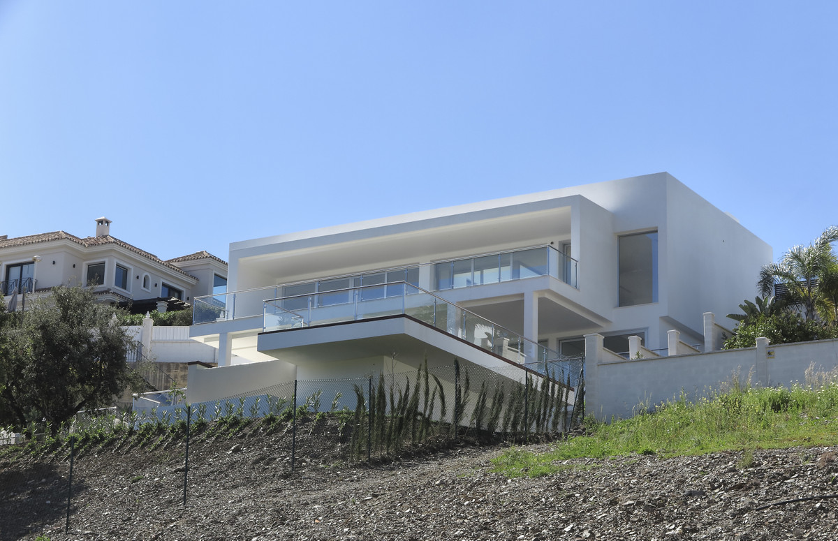 Spectacular new built villa in Elviria! Modern design, stunning sea, mountain and golf views, many s, Spain