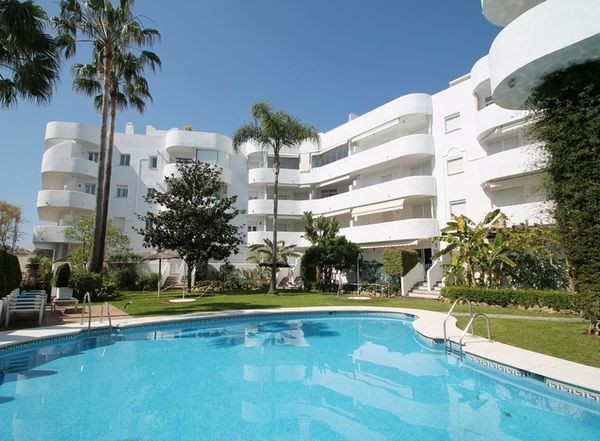 Sunny south west facing first floor apartment situated in the heart of Marbella's Golden Mile, w,Spain