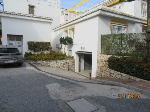This is large private garage located in the complex of Mijas Playa Club in beachside La Cala.  A gre, Spain
