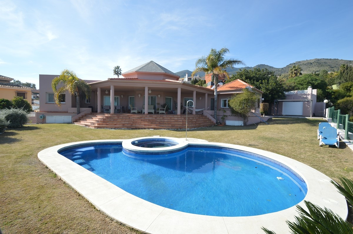 Exclusive Villa built to a very high standard, situated in BENALMADENA PUEBLO on a flat plot with pa,Spain