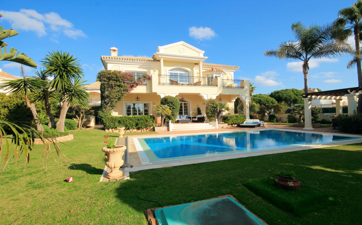 Beautiful villa magnificently located 50 meters from the beach, built in 2004 by the current owner w,Spain
