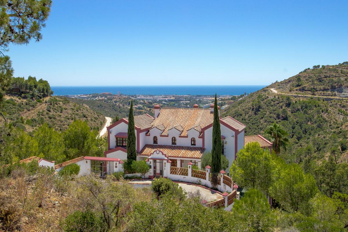 The majestic villa El Mirador, in the exclusive area of La Reserva del Madronal, is set amidst unpoi,Spain