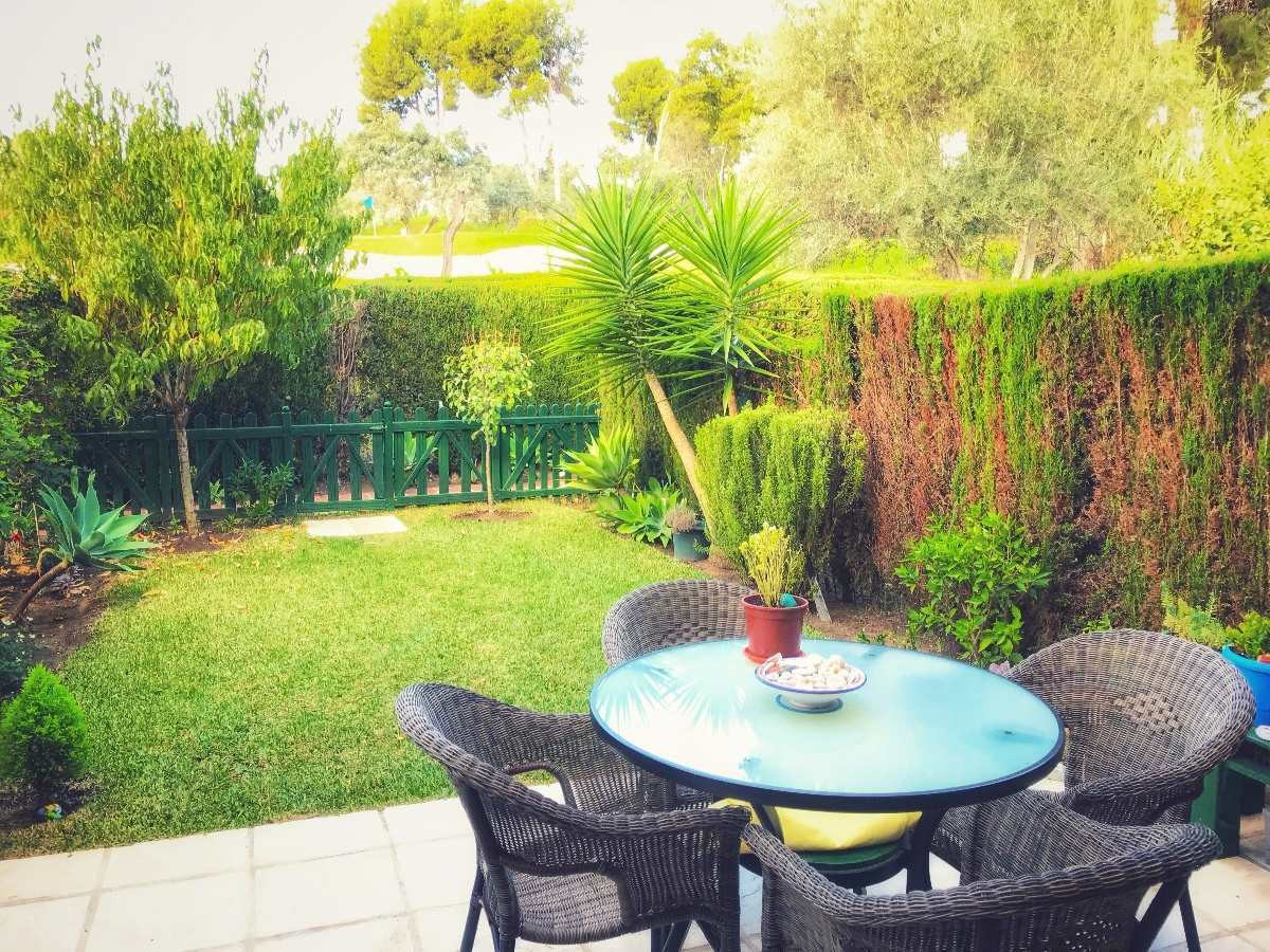 Fantastic 3 bedroom townhouse in Aloha Golf. West facing with spacious living area with fireplace an,Spain