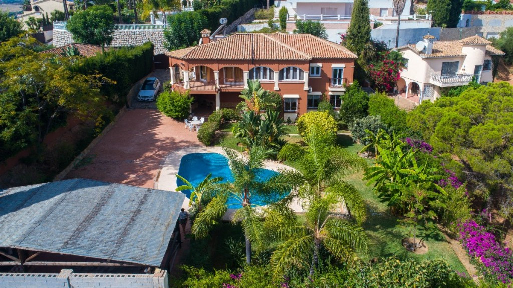 Large Villa located in Campo Mijas at short distance to services and with 100% privacy!!  It is dist,Spain