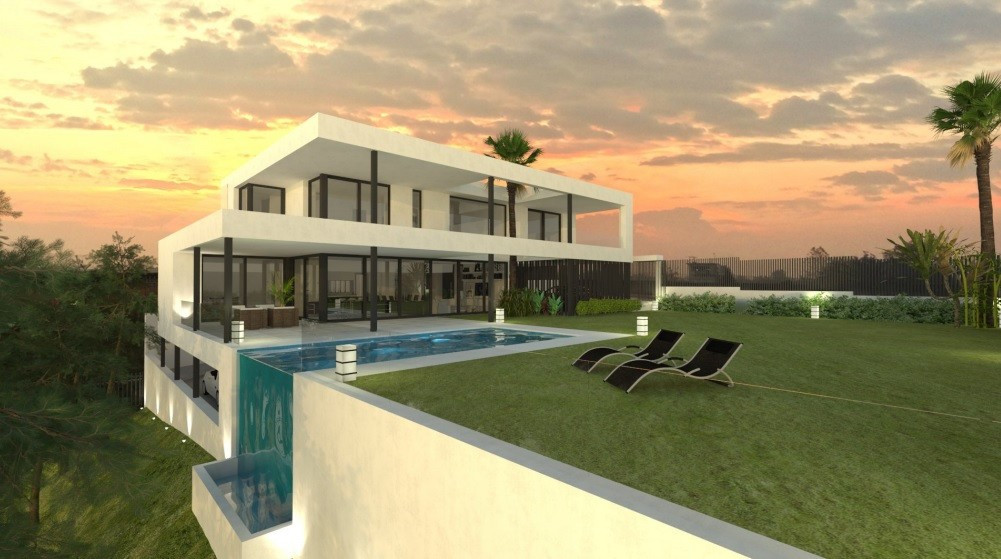 Villa for sale in Elviria, Marbella East, with 4 bedrooms, 4 bathrooms, 1 toilets and has a swimming,Spain