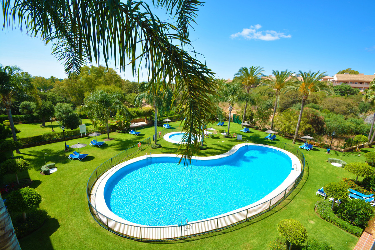 Beautiful sunny luxury apartment located in one of the best areas of Elviria. The apartment has a sp, Spain