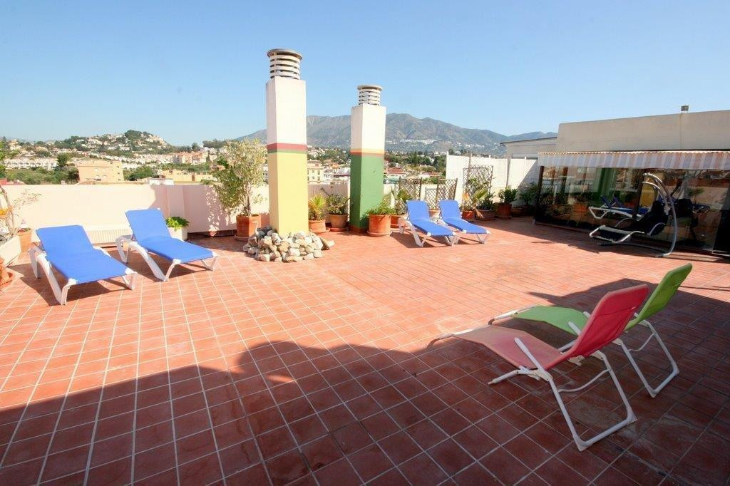 Amazing penthouse for sale in Fuengirola, on the Costa del Sol with a massive terrace on the same le,Spain