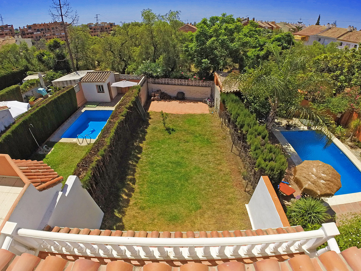 Contemporary townhouse Marbella with garden Wonderful terraced house Marbella with a plot of 153m² c, Spain