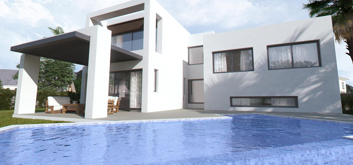 In gated urbanisation 6 luxury villas in modern style with high standard quality. 3 bedrooms with en,Spain