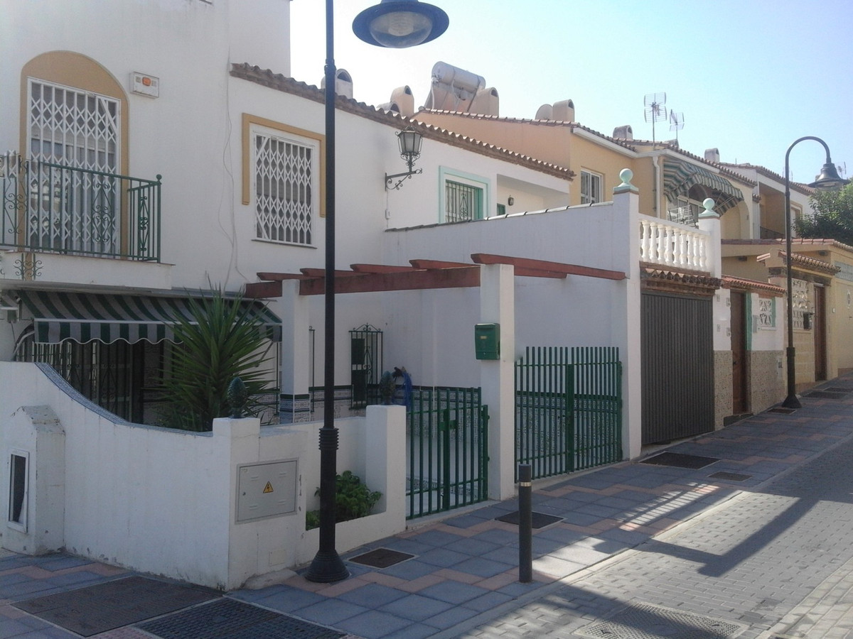 Townhouse in Dona Ermita,Mijas Costa unfurnished house with west facing. Swimming pool and private g,Spain