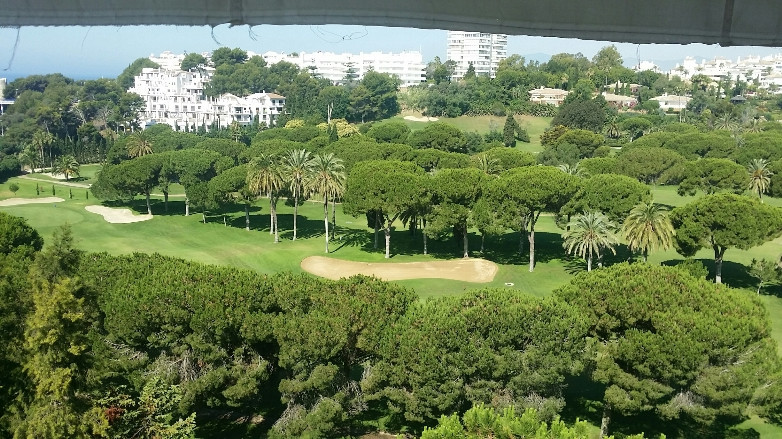 Well appointed fully-furnished apartment on the second floor and first line Golf Rio Real.  The prop, Spain