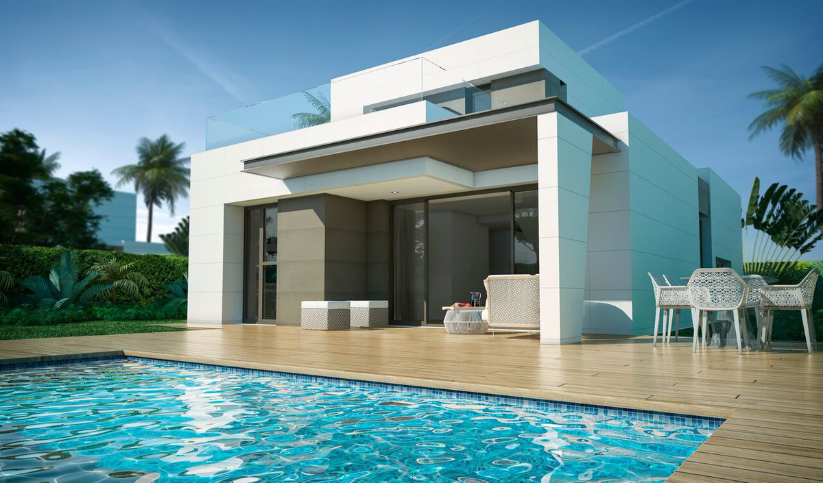 Villas of modern architecture, independent of 350 M2 plot and with an avant-garde design with high e,Spain