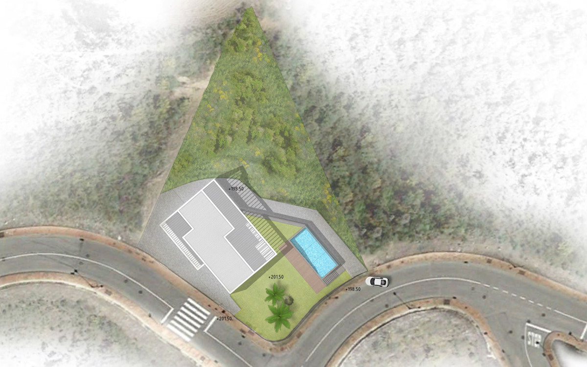 Plot is already flattened to build. Includes paid project and paid building license: start building ,Spain