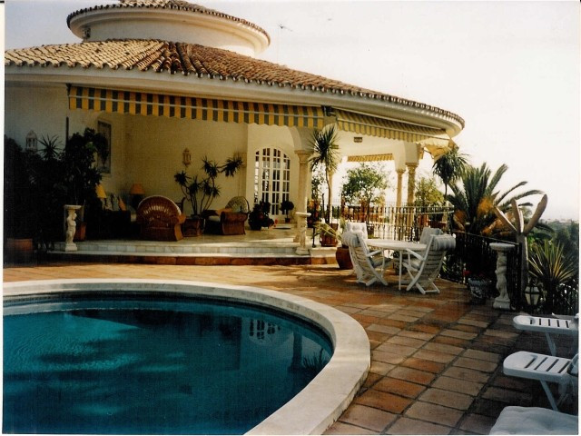 Luxury villa in Marbella East, with panoramic sea and mountain views, just 5 minutes from the beach,,Spain