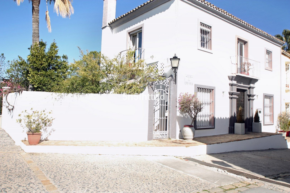 Charming corner townhouse for sale in La Heredia, beautiful Andalusian-style development on the way ,Spain