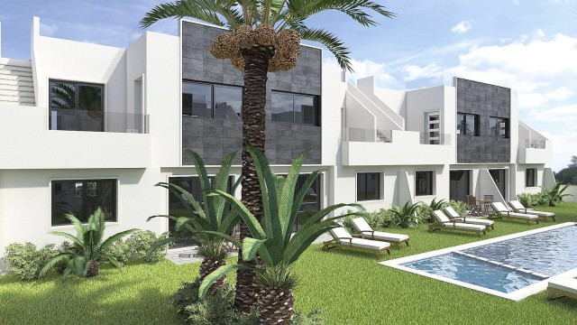 Stunning new build apartments located next to the lagoons in the coastal town of San Pedro del Pinat, Spain