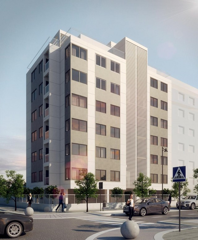 Seaside apartments just 300 metres from the beach.  This new off plans development of 21 apartments ,Spain