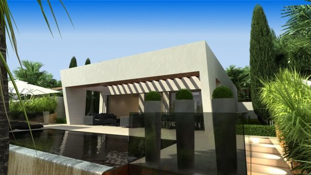 Beachside-Marbella-Next to Puerto Banus. Off Plan Villa contemporary-modern style with lots of light,Spain