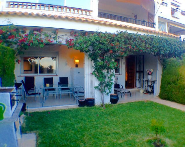 UNIQUE OPPORTUNITY: Pristine, close sea view 2 bedroom ground floor apartment in El Campello, only 5,Spain