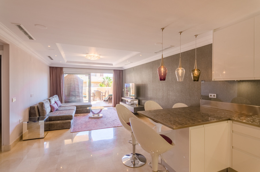 SUPER MODERN 2 BEDROOM ELEVATED GROUND FLOOR IN ONE OF THE BEST GATED COMPLEX IN NUEVA ANDALUCIA! Th, Spain