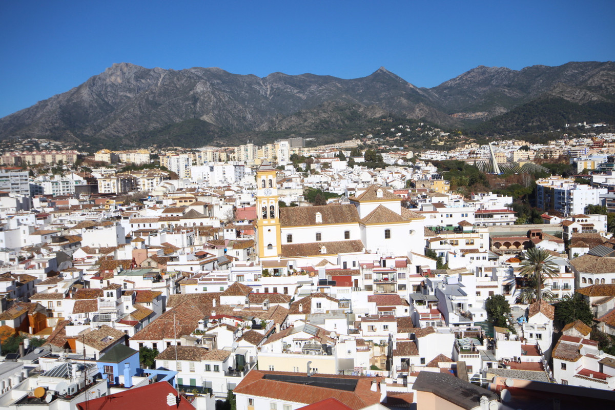 Fabulous property located in the center of Marbella with the best views to the old town of Marbella ,Spain