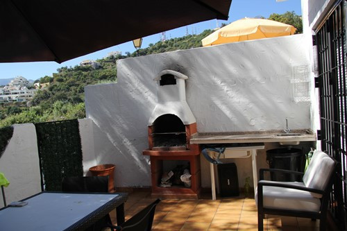 Charming town-house with panoramic views in Los Altos de Los Monteros, Marbella. This small communit,Spain
