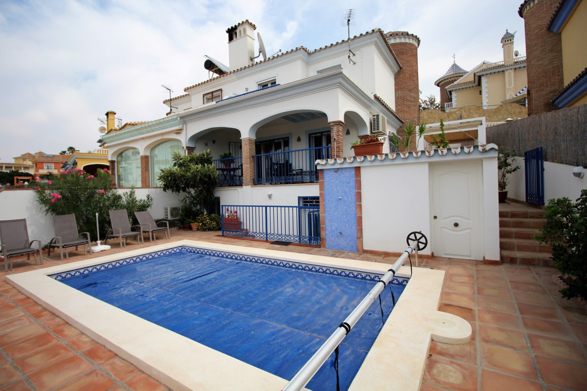 Spectacular Villa in one of the best urbanizations in Torre del Mar. The House is divided into three, Spain