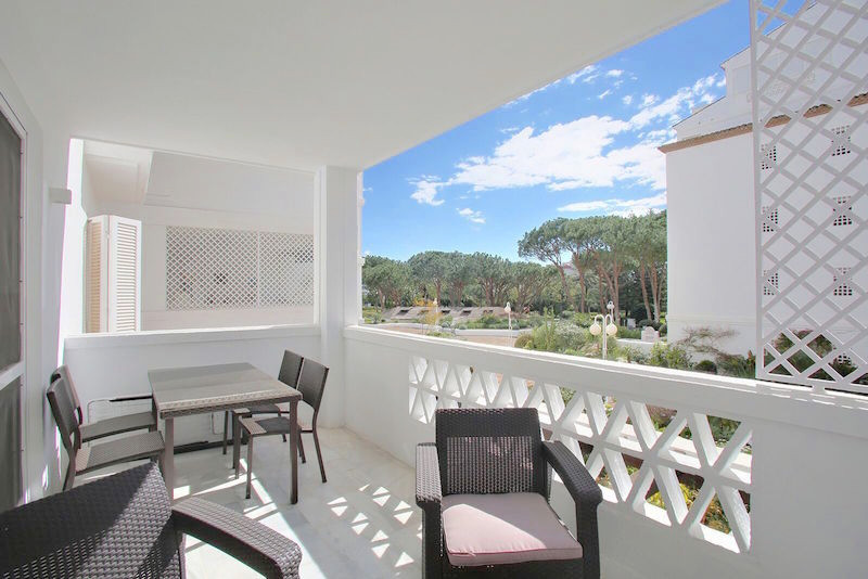 Recently renovated three bedrooms apartment in the heart of Puerto Banus. Playas del Duque is a beacSpain