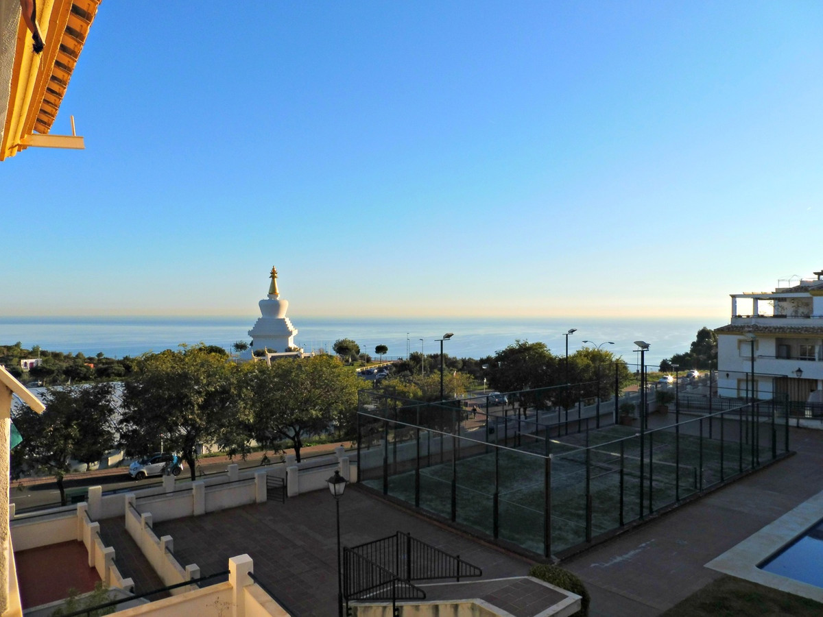 Stunning 2 bedroom apartment for sale in Benalmadena Pueblo. This third floor property features a li, Spain