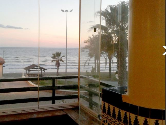 FIRST LINE BEACH, WITH VIEWS TO THE SEA AND COAST, COMPRISING 2 BEDROOMS, 1 BATHROOM, INDEPENDENT KI,Spain