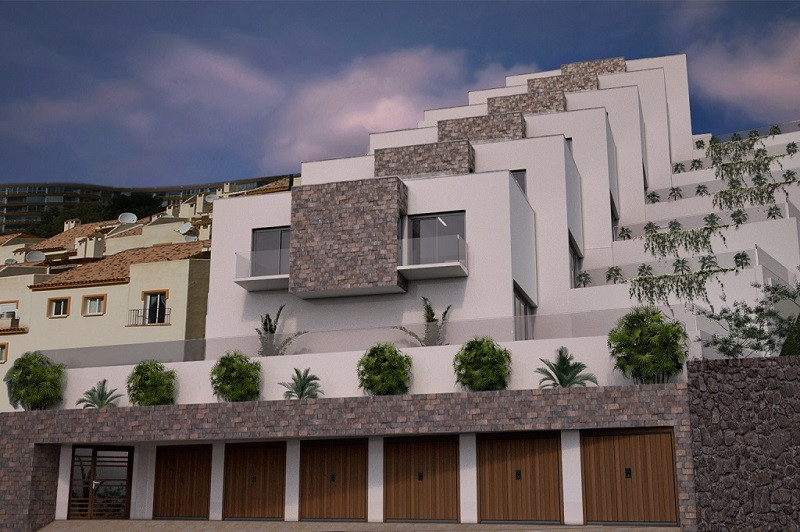 NEW PROJECT!  Duplex apartment with spectacular sea views and modern design  2 bedroom + 2 bathroom , Spain