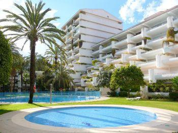 Lovely apartment in the most residential area of Marbella, in front of Hotel Melia. It enjoys a grea,Spain