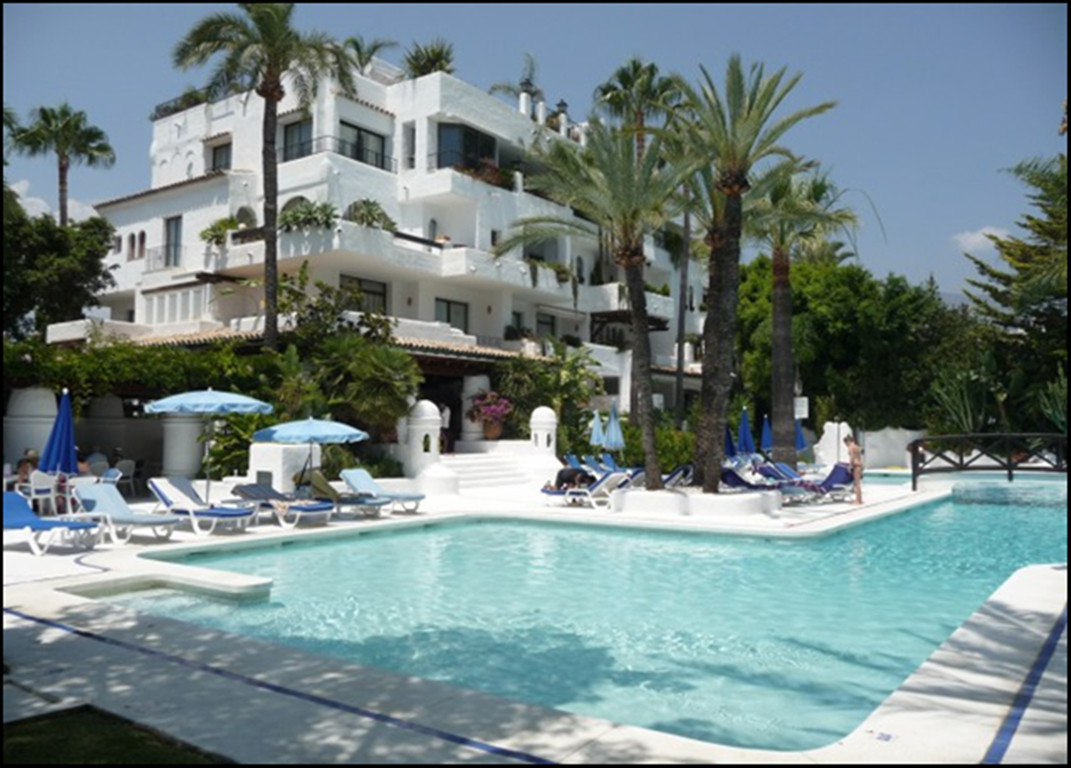 Apartment located in a complex on the second line of the sea, La Isla, a few minutes walking from th,Spain