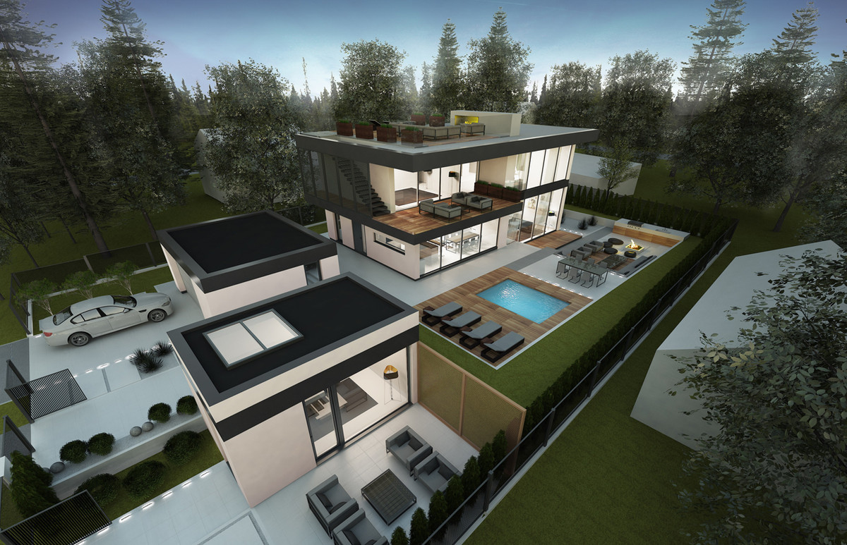 - Off-plan luxury villa on an excellent plot with sea views, in the well-known urbanization of Valto, Spain