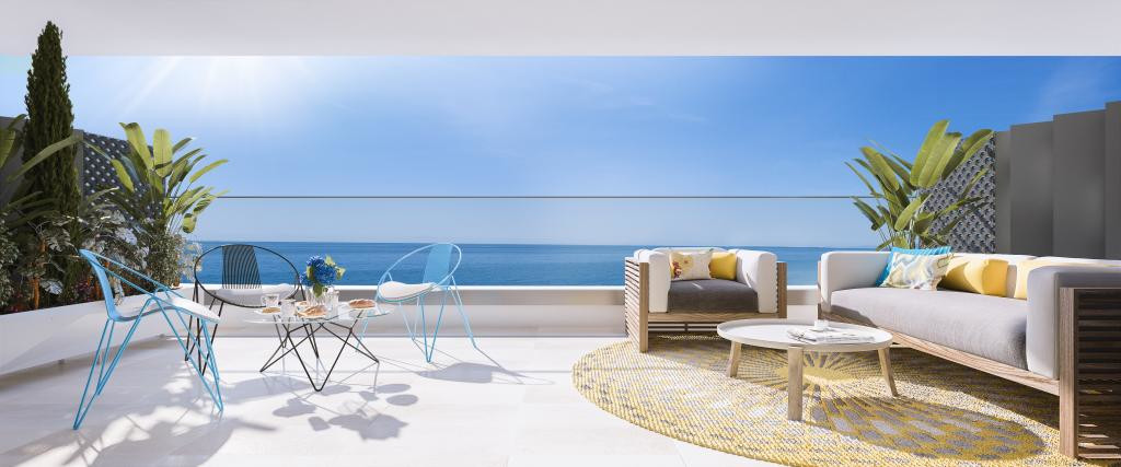 SEALINE HOMES (PORTAL A- 02) is an exclusive project located at the beachfront in Torrox-Costa (Cost, Spain
